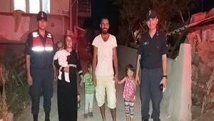Kaybolan iki kardeş 4,5 saat sonra bulundu