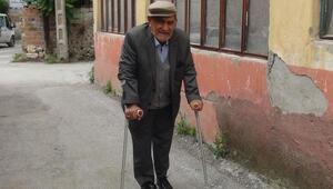 Yaşlı adama büyük vicdansızlık