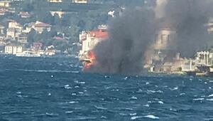Son dakika... İstanbulda bir yatta yangın