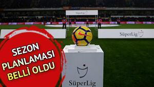 Ligler ne zaman başlayacak İşte Süper Lig ve TFF 1. Ligin başlama tarihi