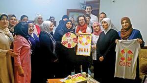Suriyeli ve Türk kadınları mikro kredi patron yaptı