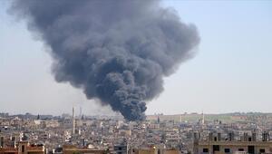 İdlib Gerginliği Azaltma Bölgesine hava saldırısı: 6 sivil öldü