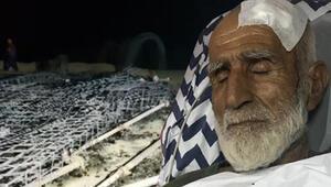 27 yıl sonra geri döndü Dövüp evini yaktılar