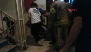 Sultangazide asansörde sıkışan adam hayatını kaybetti