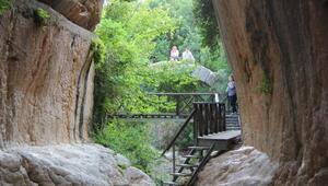 Roma dönemi Titus Tüneli'ne ziyaretçi akını