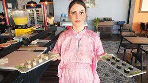Bandırmada bir restoran yaptı Balıkesirin ilk suşi restoranı