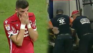 Dinamo Bükreşin hocası maçta kalp krizi geçirdi