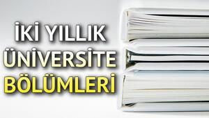 TYT ile öğrenci alan bölümler neler 2 yıllık bölümler ve taban puanları