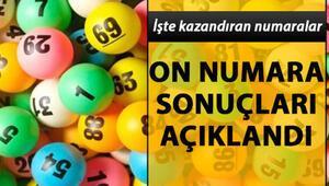 On Numara çekilişinde 10 bilen 1 kişi ikramiyeyi kazandı.. 22 Temmuz MPİ On Numara sonuçları