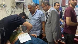 Suriye sınırındaki Ceylanpınarda patlama: Yaralılar var