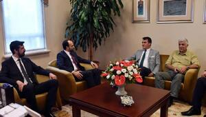 MHP Bursa İl Başkanı Kalkancı'dan Mustafa Dündar'a ziyaret