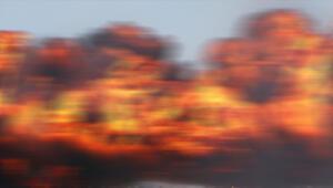 ABDde yanan otomobildeki patlama yürekleri ağza getirdi