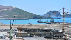 Akkuyu Nükleer Santrali inşaatı görüntülendi