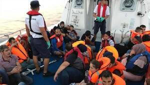 Datça açıklarında 25 kaçak göçmen yakalandı