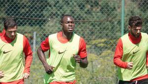 Gençlerbirliğinin yeni transferi Toure, kampa katıldı