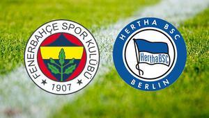 Fenerbahçe Hertha Berlin maçı ne zaman saat kaçta ve hangi kanalda