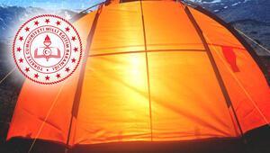 MEBden 100 öğrenciye tatil kampı