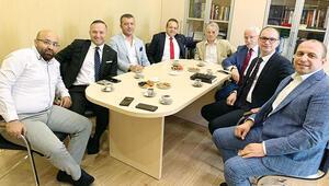 Cemiloğlu'na tebrik ziyareti
