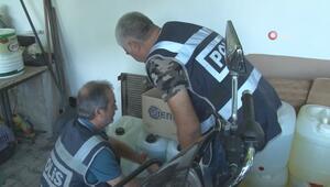 Adanada 500 polisle sahte ve kaçak içki operasyonu