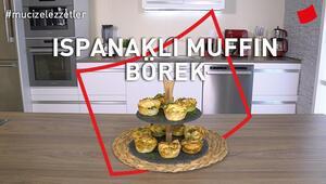 Ispanaklı Muffin Börek   Mucize Lezzetler