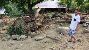 Akçakocanın Karatavuk köyü de selden etkilendi