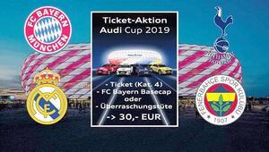 Fenerbahçe, Bayern Münih-Audi Cups 4'lü turnuva için Münih'e geliyor
