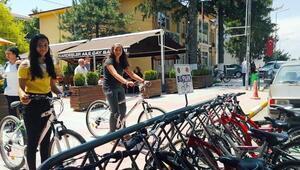 Vize Belediyesinden vatandaşlara ücretsiz bisiklet