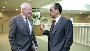 Son dakika... İbrahim Kalın, ABDli yetkili Jeffrey ile görüştü