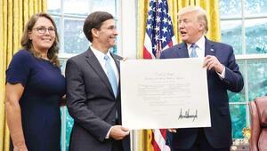 Mark Esper yeni ABD Savunma Bakanı