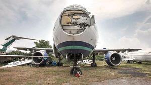 Yerde kalan 29 uçağa hurda satış yolu