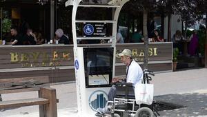 Engelliler için 3 noktaya 3 istasyon