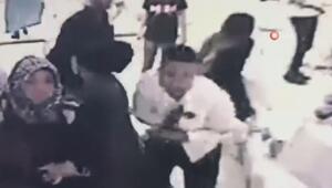 Çocuk damadın vurulma anı kamerada