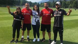 Beşiktaşta tartışma tatlıya bağlandı