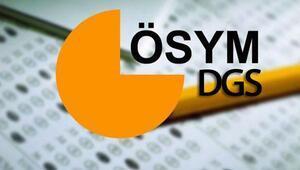 DGS sonuçları açıklandı İşte, ÖSYM DGS sonuç sorgulama sayfası