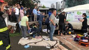 Orduda yolcu otobüsü minibüsle çarpıştı: 3 ölü, 7 yaralı