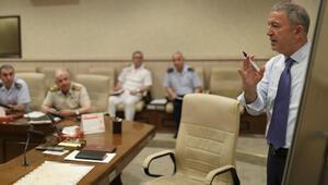 ABD heyeti ile yapılan görüşmenin ardından Bakan Akar'dan flaş açıklama