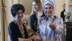 Emine Erdoğan Malezya Başbakanının eşi ile görüştü