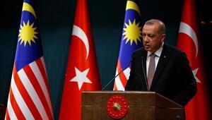 Cumhurbaşkanı Recep Tayyip Erdoğan, açıklamalarda bulundu