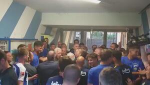 Fenerbahçe - Hertha Berlin maçı sonrası tünel karıştı