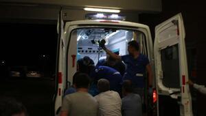 Adıyamanda polis aracına silahlı saldırı: 1 ağır yaralı