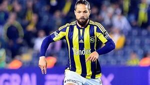 Fenerbahçenin eski yıldızı Diego Ribasın ayağı kırıldı