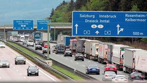 Avusturya ile Almanya arasında otoban kavgası