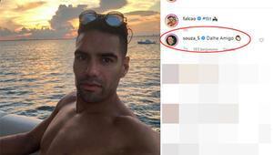 Son dakika transfer haberleri: Josef De Souzadan Falcaoya heyecanlandıran yorum
