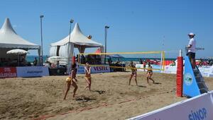 Sinopta TVF Plaj Ligi Türkiye Şampiyonası heyecanı