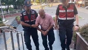 Bursada, caminin yardım kutusunu çalan suç makinesi tutuklandı