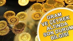 Gram ve çeyrek altın alacaklar dikkat Altın fiyatları hafta sonu ne kadar oldu