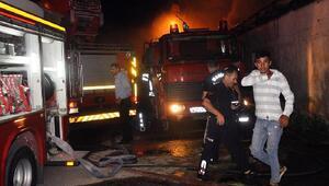 Suriyeli 25 kişilik ailenin kaldığı ev yandı