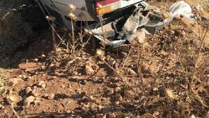 Akçakalede otomobil takla attı: 1 ölü, 3 yaralı