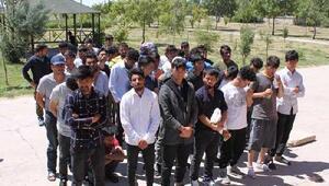 Aksarayda 78 kaçak göçmen yakalandı
