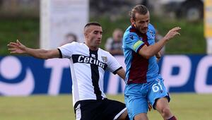 Trabzonspor - Parma maçında 4 gol